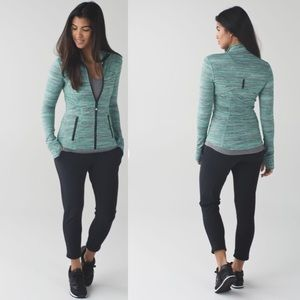 Lululemon Define Jkt SP Dye Camo Forage Teal BK 6